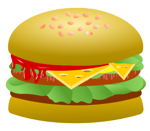 hamburger - from wikimedia commons